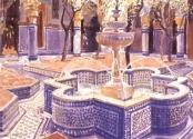 The Blue Fountain, Morocco