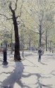 Holland Park Avenue in Spring