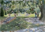 Rowcrift Garden, Afternoon Sun