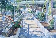 The Trellised Path, Greece