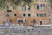 By the Palazzo Molin, Venice