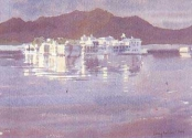 The Lake Palace at Dawn