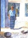 Nutmeg Lady in Blue, Cochin