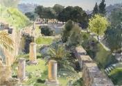 Roman Columns, Old Jerusalem