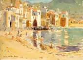 The Fishing Harbour, Cefalu