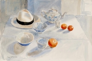 Still Life with Panama Hat