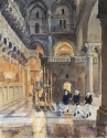 Novices at the Church of the Holy Sepulchre
