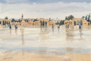 Wind and Rain on the Temple Mount