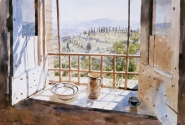 View from a Tuscan Window