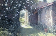 The Walled Garden (oil painting)