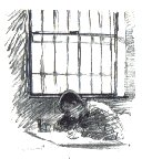 Sketch by inmate at Shepton Mallet Prison